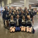 JV Competitive Cheer finishes 4th place at the Cheer Competition @ Corner Canyon HS