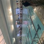 Women's Varsity Swimming beats Jordan 109 – 61