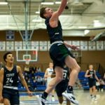 Men's Varsity Basketball beats Bingham 59 – 52