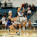 Girls Sophomore Basketball beats Riverton 44 – 42