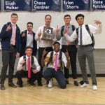 Men's Varsity Basketball beats Jordan 56 – 52 to 4-Peat as Region III Champions