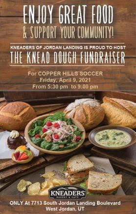 Boys Soccer Spirit Night at Kneaders – FRIDAY 4/9