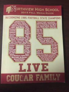 85 Live State Championship Reunion Oct. 2, 2015