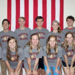 NHS Swim Team Competes in State Sectionals