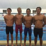 Boys Swim Team Takes First