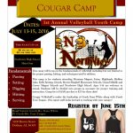 Volleyball Cougar Camp