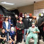Lady Spartans Rock The Haunted Maze