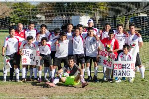 2017 Boys Varsity Soccer Senior Game