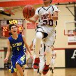 Close Game for JV Boys Basketball Against Skyview