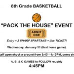 Pack the House Event