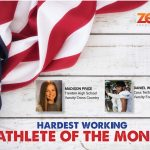 The Zeal Credit Union Athlete of the Month is…