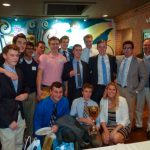 Season Finale:  Skyline Men's Water Polo celebrates its Winning Season