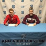 Skyline Swimmers Sign LOI