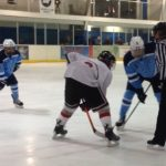 Skyline High School Boys Varsity Hockey beat Bedford High School 4-3