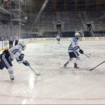 Skyline High School Boys Varsity Hockey beat Dexter High School 9-2
