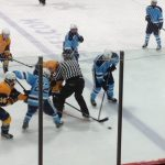 Skyline High School Boys Varsity Hockey falls to Saline Area Schools 4-7