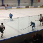 Skyline High School Boys Varsity Hockey falls to Pinckney High School 2-3