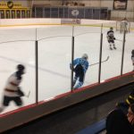 Skyline High School Boys Varsity Hockey beat Shrine Catholic High School 5-2
