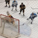 Skyline High School Boys Varsity Hockey beat Holt High School 9-1