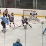 Skyline High School Boys Varsity Hockey falls to Pioneer High School 3-4