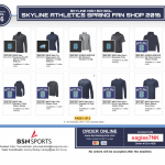 Spring Skyline Athletic Shop Is Open!!