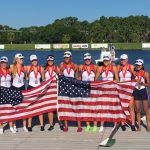 Crew athlete, Kate Burns wins two golds with US National Team