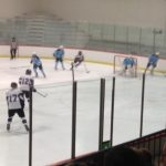 Skyline High School Boys Varsity Hockey ties Pioneer High School 1-1
