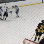 Skyline High School Boys Varsity Hockey falls to Chelsea High School 4-3