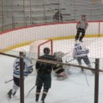 Skyline High School Boys Varsity Hockey beat Ann Arbor Huron High School 8-0