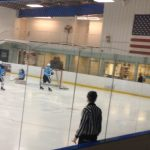 Skyline High School Boys Varsity Hockey falls to Romeo High School 4-2