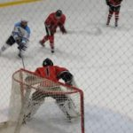 Skyline High School Boys Varsity Hockey beat Pinckney High School 8-1