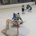 Skyline High School Boys Varsity Hockey beat Ann Arbor Huron High School 6-3