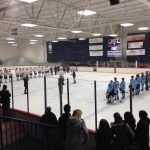 Skyline High School Boys Varsity Hockey falls to Saline High School 6-2
