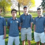 Boys Blue JV Golf Team Finishes 8th at Salem Invitational