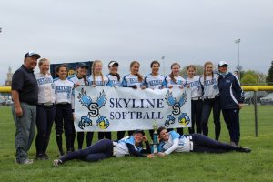 Softball- Grosse Pointe South Tournament Champs