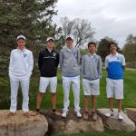 Boys Golf White Varsity Team Finishes 5th at Tecumseh Invitational