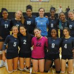 Freshman Girls Volleyball Tournament at Novi High School