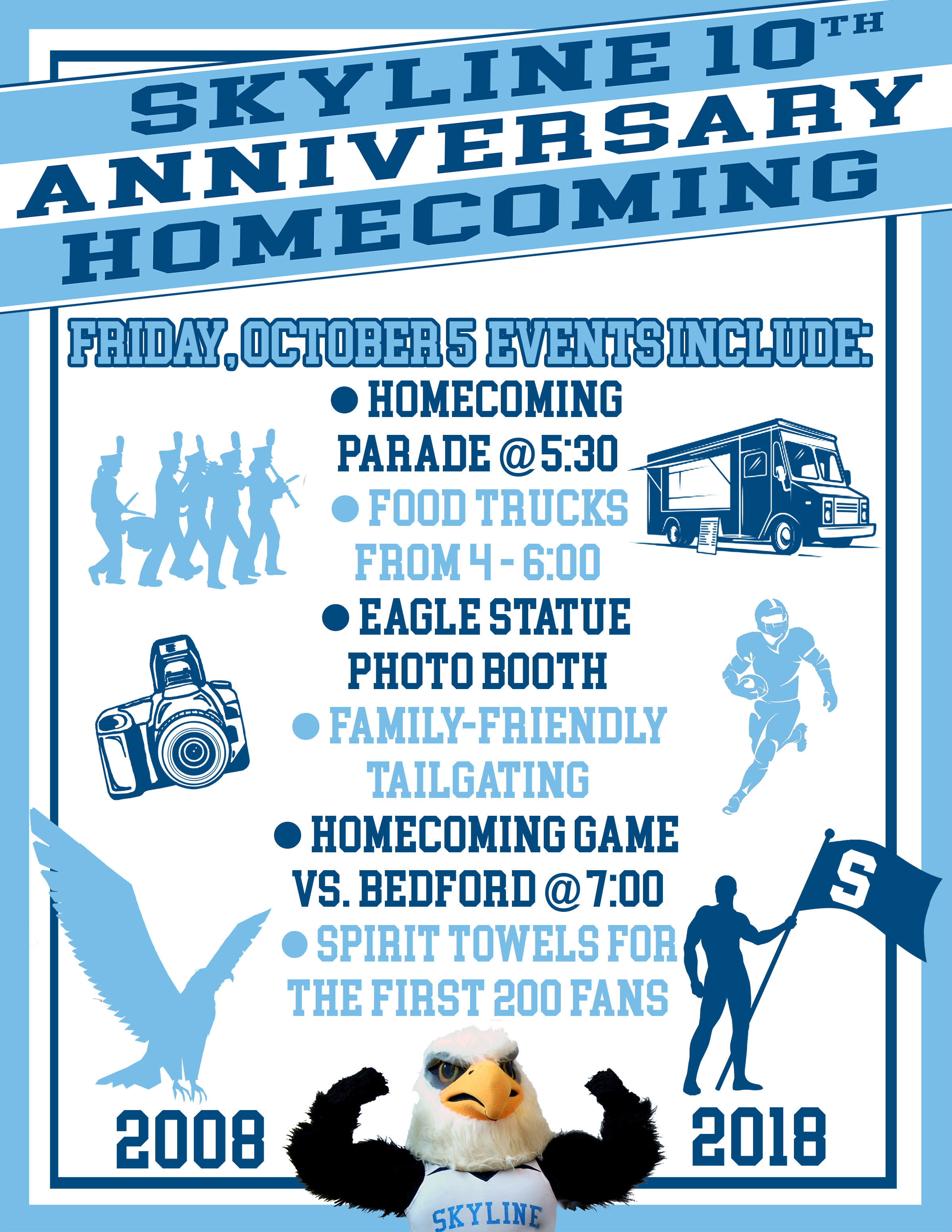 Skyline 10th Anniversary Homecoming Events