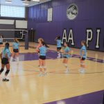 Girls Freshman Volleyball beats Pioneer 2 – 1
