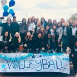 Skyline Volleyball has a great time at the Homecoming Parade!