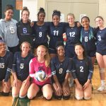 Freshman Girls Volleyball Win the Silver Bracket in the Gabriel Richard Tournament