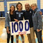 Skyline's Own Kendall Murray reaches 1000 kills on the court!!!!