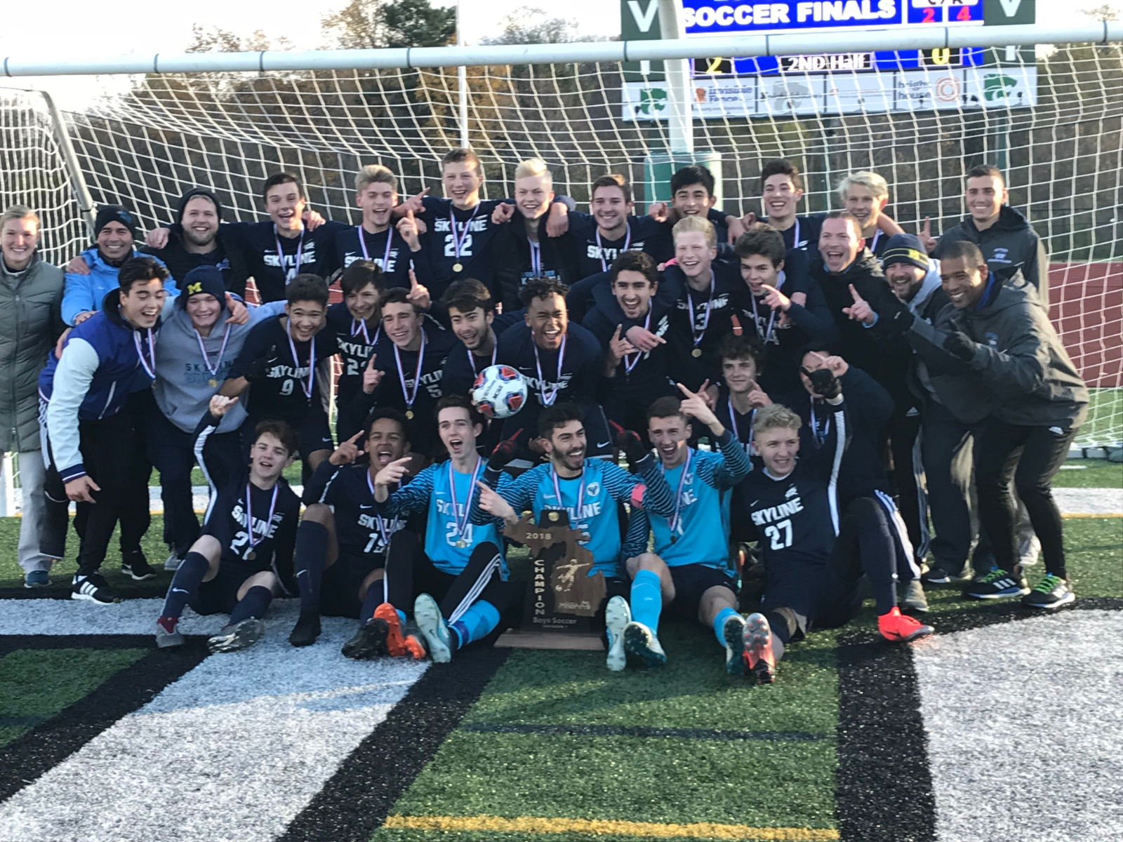 Boys Soccer State Champions!!