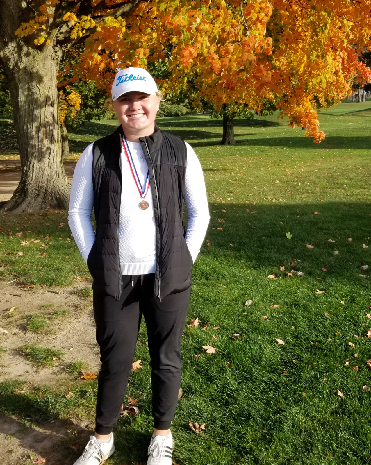 Adie Maki Golf State Championship Runner-Up!