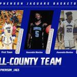 Jaguar Basketball Players Honored