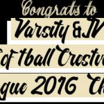VARSITY & JV SOFTBALL CRESTVIEW 2016 LEAGUE CHAMPS