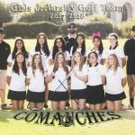 2017 Girls Golf J.V. Team
