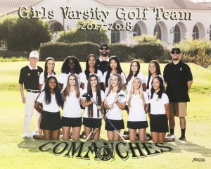 2017 Girls Golf Varsity Team