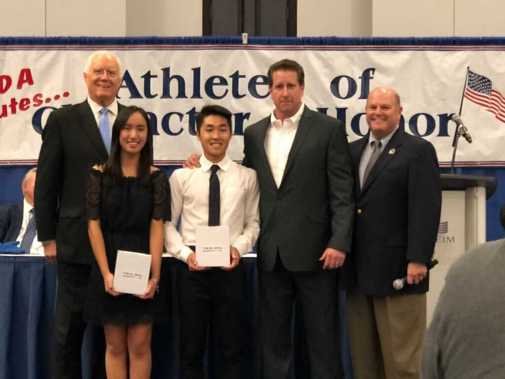 "Annabeth Nguyen and Kun Seo Yook Named ""Athlete with Character"" Award Winners"