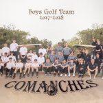 Boys Golf Program 2018